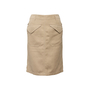 Authentic Second Hand Hermès Pocket Detail Pencil Skirt (PSS-067-00185) - Thumbnail 0