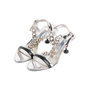 Authentic Second Hand Prada Chainlink Strap Sandals (PSS-927-00008) - Thumbnail 3