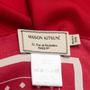 Authentic Second Hand Maison Kitsuné Paris Scarf (PSS-609-00032) - Thumbnail 3