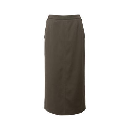 Authentic Second Hand Hermès Zip Detail Maxi Skirt (PSS-067-00187)