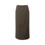 Authentic Second Hand Hermès Zip Detail Maxi Skirt (PSS-067-00187) - Thumbnail 0