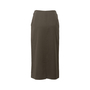 Authentic Second Hand Hermès Zip Detail Maxi Skirt (PSS-067-00187) - Thumbnail 1