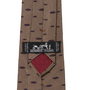 Authentic Second Hand Hermès Jacquard Marquise Pattern Tie (PSS-067-00159) - Thumbnail 2