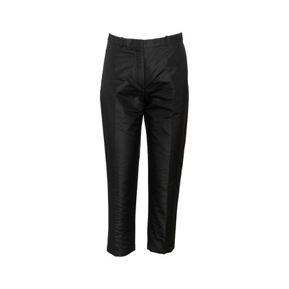 Authentic Second Hand Hermès Tailored Silk Pants (PSS-845-00040)