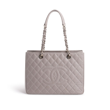 Authentic Second Hand Chanel Grand Shopping Tote (PSS-983-00005)