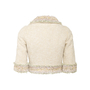 Authentic Second Hand Chanel Contrast Tweed Cropped Jacket (PSS-983-00001) - Thumbnail 1