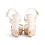 Authentic Second Hand Christian Louboutin Cataclou Embellished Wedge Sandals (PSS-985-00015) - Thumbnail 2