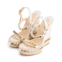 Authentic Second Hand Christian Louboutin Cataclou Embellished Wedge Sandals (PSS-985-00015) - Thumbnail 3