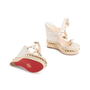 Authentic Second Hand Christian Louboutin Cataclou Embellished Wedge Sandals (PSS-985-00015) - Thumbnail 5