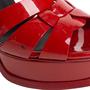 Authentic Second Hand Yves Saint Laurent Patent Tribute Sandals (PSS-985-00018) - Thumbnail 6