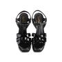 Authentic Second Hand Yves Saint Laurent Patent Tribute Sandals (PSS-985-00019) - Thumbnail 0