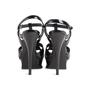 Authentic Second Hand Yves Saint Laurent Patent Tribute Sandals (PSS-985-00019) - Thumbnail 2