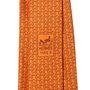 Authentic Second Hand Hermès Silk Twill Neck Tie  (PSS-247-00211) - Thumbnail 4