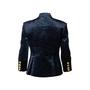Authentic Second Hand Pierre Balmain Velvet Military Jacket (PSS-356-00072) - Thumbnail 1