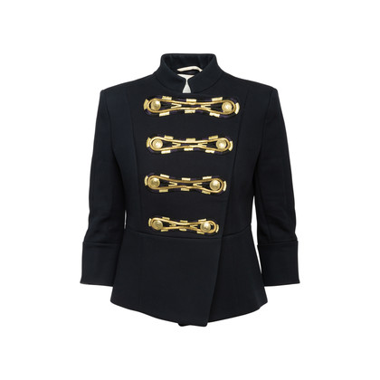 Authentic Second Hand Pierre Balmain Military Embroidered Jacket (PSS-356-00073)