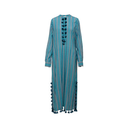 Authentic Second Hand Figue Paolina Tasseled Dress (PSS-356-00081)