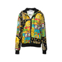 Authentic Second Hand Moschino Casino Printed Hoodie (PSS-356-00082) - Thumbnail 0