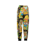 Authentic Second Hand Moschino Casino Printed Track Pants (PSS-356-00083) - Thumbnail 1