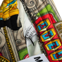 Authentic Second Hand Moschino Casino Printed Track Pants (PSS-356-00083) - Thumbnail 4