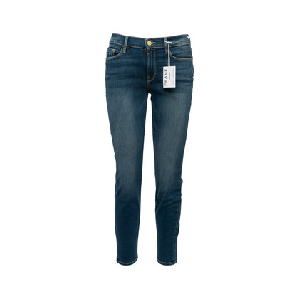 Authentic Second Hand Frame Le Skinny de Jeanne Crop Jeans (PSS-356-00096)