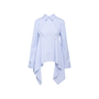 Authentic Second Hand Off-White Open-Back Embroidered Striped Top (PSS-356-00123) - Thumbnail 0