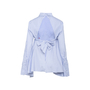 Authentic Second Hand Off-White Open-Back Embroidered Striped Top (PSS-356-00123) - Thumbnail 1