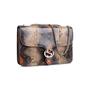 Authentic Second Hand Gucci Python GG Shoulder Bag (PSS-831-00011) - Thumbnail 1