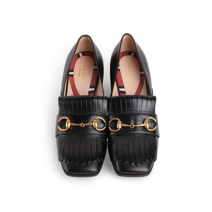 Authentic Second Hand Gucci Marmont Pumps (PSS-356-00163)