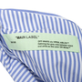 Authentic Second Hand Off-White Open-Back Embroidered Striped Top (PSS-356-00123) - Thumbnail 2
