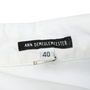 Authentic Second Hand Ann Demeulemeester Asymmetric Cotton Shirt (PSS-356-00144) - Thumbnail 2