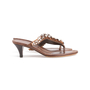 Authentic Second Hand Prada Embellished Sandals (PSS-981-00008) - Thumbnail 1