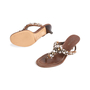 Authentic Second Hand Prada Embellished Sandals (PSS-981-00008) - Thumbnail 4