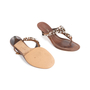 Authentic Second Hand Prada Embellished Sandals (PSS-981-00008) - Thumbnail 5