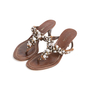 Authentic Second Hand Prada Embellished Sandals (PSS-981-00008) - Thumbnail 3
