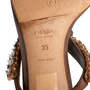 Authentic Second Hand Prada Embellished Sandals (PSS-981-00008) - Thumbnail 6