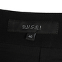 Authentic Second Hand Gucci Leather-Trimmed Skirt (PSS-984-00008) - Thumbnail 2