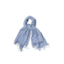 Authentic Second Hand Hermès Sellier Fringe Scarf (PSS-991-00017) - Thumbnail 0