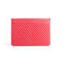 Authentic Second Hand Chanel Chevron O Case Pouch (PSS-074-00271) - Thumbnail 2