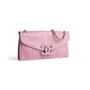Authentic Second Hand Chanel Python Flap Bag (PSS-074-00272) - Thumbnail 1