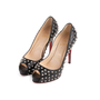 Authentic Second Hand Christian Louboutin Very Prive Spikes Pumps (PSS-074-00292) - Thumbnail 3