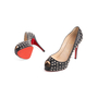 Authentic Second Hand Christian Louboutin Very Prive Spikes Pumps (PSS-074-00292) - Thumbnail 4