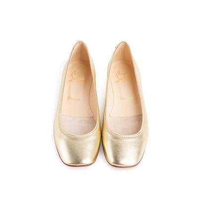 Authentic Second Hand Christian Louboutin Ballerina 872 Flats (PSS-074-00295)