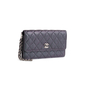 Authentic Second Hand Chanel Iridescent Caviar Clutch Wristlet (PSS-990-00008) - Thumbnail 1