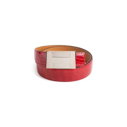 Authentic Second Hand Hermès Quizz Plate Porosus Belt Kit (PSS-990-00046)