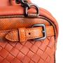 Authentic Second Hand Bottega Veneta Intrecciato Karung Shoulder Bag (PSS-990-00025) - Thumbnail 6