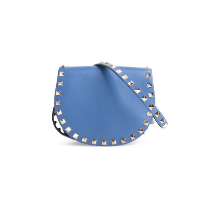 Authentic Second Hand Valentino Rockstud Half Moon Bag (PSS-990-00029)