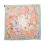Authentic Second Hand Louis Vuitton Floral Illustration Scarf (PSS-990-00030) - Thumbnail 1
