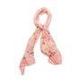 Authentic Second Hand Salvatore Ferragamo Butterfly Floral Sheer Scarf (PSS-990-00048) - Thumbnail 0