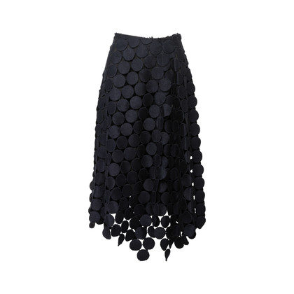 Authentic Second Hand Marni Geometric Pattern Skirt (PSS-990-00056)