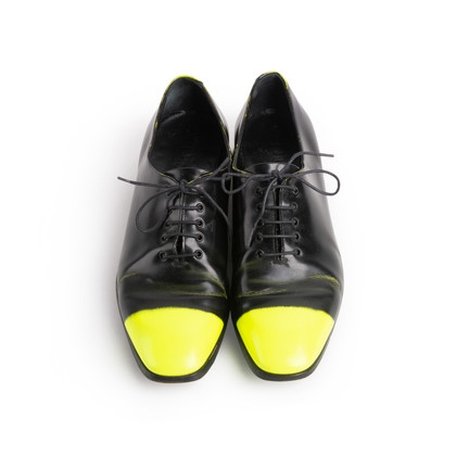 Authentic Second Hand Christian Dior Neon Tip Oxfords (PSS-088-00295)
